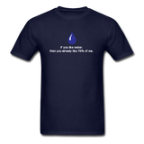 """If You Like Water"" - Men's T-Shirt navy / S - LabRatGifts - 2"