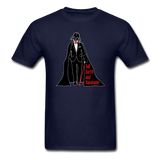 """Tall Darth and Handsome"" - Men's T-Shirt navy / S - LabRatGifts - 3"