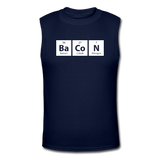 """BaCoN"" - Men's Muscle T-Shirt navy / S - LabRatGifts - 2"