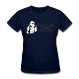 """I had Friends on that Death Star"" - Women's T-Shirt navy / S - LabRatGifts - 12"
