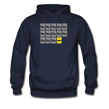 """Na Na Na Batmanium"" - Men's Sweatshirt navy / S - LabRatGifts - 1"