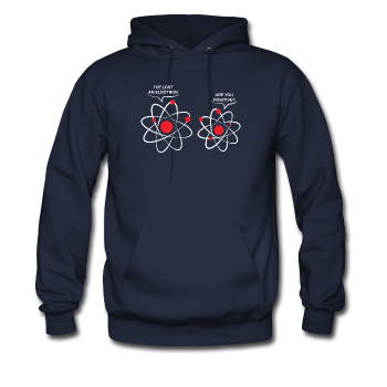 """I've Lost an Electron"" - Men's Sweatshirt navy / S - LabRatGifts - 1"