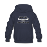 """I Found this Humerus"" - Kids' Sweatshirt navy / S - LabRatGifts - 6"