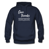 """Give Thanks For Science"" - Men's Hoodie"