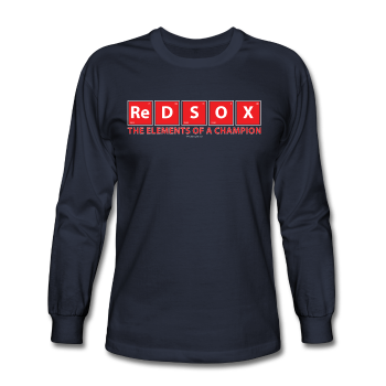 """Red Sox, The Elements Of A Champion"" - Men's Long Sleeve T-Shirt"
