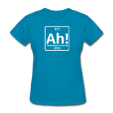 """Ah! The Element of Surprise"" - Women's T-Shirt turquoise / S - LabRatGifts - 7"