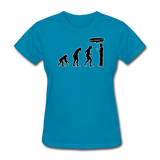 """Stop Following Me"" - Women's T-Shirt turquoise / S - LabRatGifts - 2"