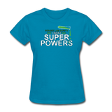 """Forget Lab Safety"" - Women's T-Shirt turquoise / S - LabRatGifts - 7"
