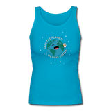 """Save the Planet"" - Women's Tank Top turquoise / S - LabRatGifts - 4"