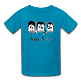"""Heavy Metals"" - Kids' T-Shirt turquoise / XS - LabRatGifts - 3"