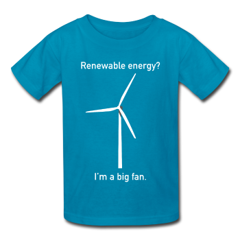 """I'm a Big Fan"" - Kids' T-Shirt turquoise / XS - LabRatGifts - 1"