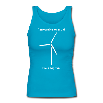 """I'm a Big Fan"" - Women's Tank Top turquoise / S - LabRatGifts - 1"