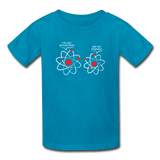 """I've Lost an Electron"" - Kids' T-Shirt turquoise / XS - LabRatGifts - 3"