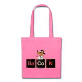 """BaCoN Periodic Table"" - Tote Bag pink / One size - LabRatGifts - 4"