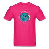 """Save the Planet"" - Men's T-Shirt fuchsia / S - LabRatGifts - 10"