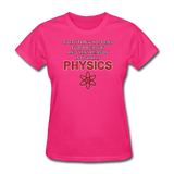 """Everything Happens for a Reason"" - Women's T-Shirt fuchsia / S - LabRatGifts - 5"