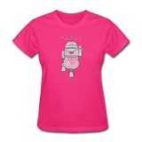 """R2-Tea-2"" - Women's T-Shirt fuchsia / S - LabRatGifts - 4"