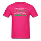 """Stand Back"" - Men's T-Shirt fuchsia / S - LabRatGifts - 9"