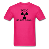 """Toxic Do Not Touch"" - Men's T-Shirt fuchsia / S - LabRatGifts - 2"