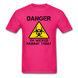 """Danger I'm Wicked Radiant Today"" - Men's T-Shirt fuchsia / S - LabRatGifts - 2"