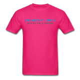 """Chemistry Jokes are so very Boron"" - Men's T-Shirt fuchsia / S - LabRatGifts - 2"