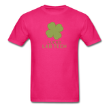 """Lucky Lab Tech"" - Men's T-Shirt fuchsia / S - LabRatGifts - 2"