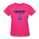 """World's Best Chemistry Teacher"" - Women's T-Shirt fuchsia / S - LabRatGifts - 3"