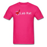 """Lab Rat, Check"" - Men's T-Shirt fuchsia / S - LabRatGifts - 2"