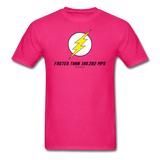 """Faster Than 186,282 MPS"" - Men's T-Shirt fuchsia / S - LabRatGifts - 2"
