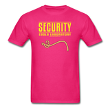 """Security Ebola Laboratory"" - Men's T-Shirt fuchsia / S - LabRatGifts - 2"