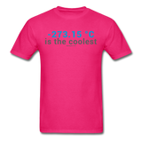 """-273.15 ºC is the Coolest"" (gray) - Men's T-Shirt fuchsia / S - LabRatGifts - 9"