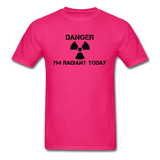 """Danger I'm Radiant Today"" - Men's T-Shirt fuchsia / S - LabRatGifts - 2"