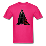 """Tall Darth and Handsome"" - Men's T-Shirt fuchsia / S - LabRatGifts - 16"