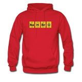 """NaH BrO"" - Men's Sweatshirt red / S - LabRatGifts - 9"