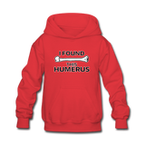 """I Found this Humerus"" - Kids' Sweatshirt red / S - LabRatGifts - 5"