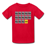 """Na Na Na Batmanium"" - Kids' T-Shirt red / XS - LabRatGifts - 6"