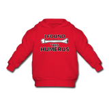 """I Found this Humerus"" - Toddler Sweatshirt red / 2 Toddler - LabRatGifts - 4"