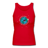 """Save the Planet"" - Women's Tank Top red / S - LabRatGifts - 6"