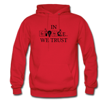 """In Science We Trust"" (black) - Men's Sweatshirt red / S - LabRatGifts - 6"