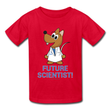 """Future Scientist"" (Matt) - Kids' T-Shirt red / XS - LabRatGifts - 4"