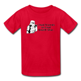 """I had Friends on that Death Star"" - Kids' T-Shirt red / XS - LabRatGifts - 4"
