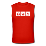 """BaCoN"" - Men's Muscle T-Shirt red / S - LabRatGifts - 3"