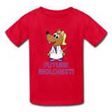 Kids' T-Shirt red / XS - LabRatGifts - 5