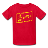 """May the Force Be With You"" - Kids' T-Shirt red / XS - LabRatGifts - 4"