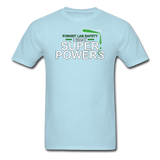 """Forget Lab Safety"" - Men's T-Shirt powder blue / S - LabRatGifts - 14"