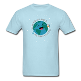 """Save the Planet"" - Men's T-Shirt powder blue / S - LabRatGifts - 12"