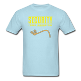 """Security Ebola Laboratory"" - Men's T-Shirt powder blue / S - LabRatGifts - 15"