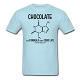 """Chocolate"" - Men's T-Shirt powder blue / S - LabRatGifts - 5"