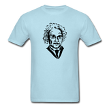 """Albert Einstein"" - Men's T-Shirt powder blue / S - LabRatGifts - 14"