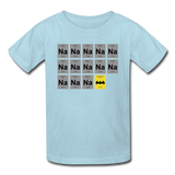 """Na Na Na Batmanium"" - Kids' T-Shirt powder blue / XS - LabRatGifts - 7"